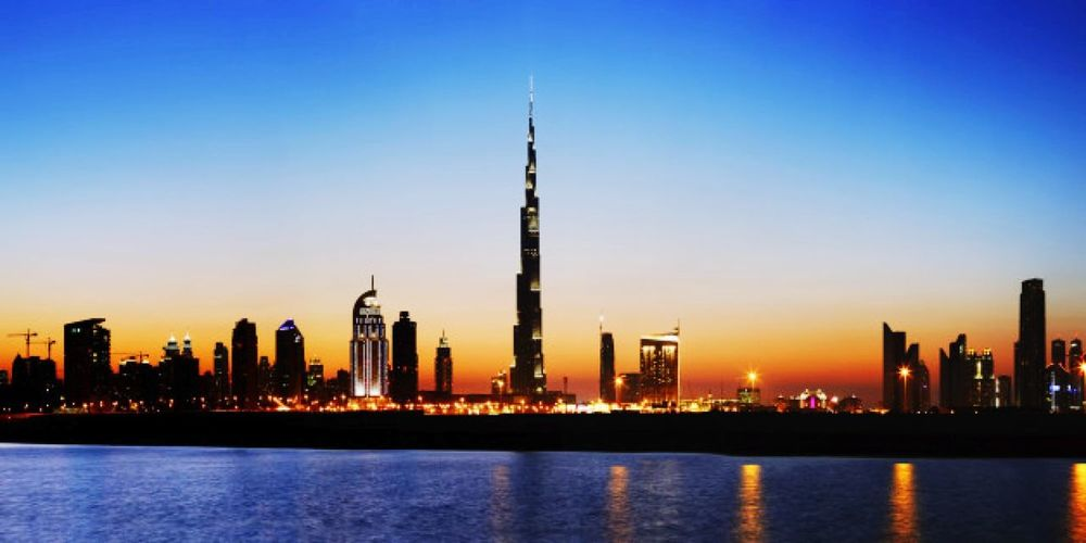 Dubai❤ Manzara😍😍 Manzara Dediğin  ◽️♠️◽️ Dubaicity ⬛⬜