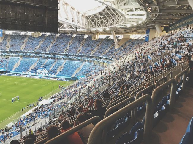 Crowd Large Group Of People Group Of People Real People Sport High Angle View Stadium Men Women Architecture