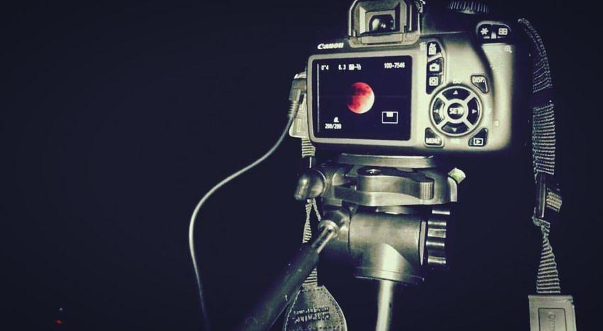 Lunar Eclipse Bloodmoon Camera