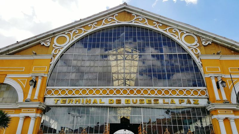Sky Architecture No People Built Structure City Outdoors Text Travel Destinations Day Building Exterior Arch Bus Terminal Bus Terminal Building Gustave Eiffel Eiffel Train Station