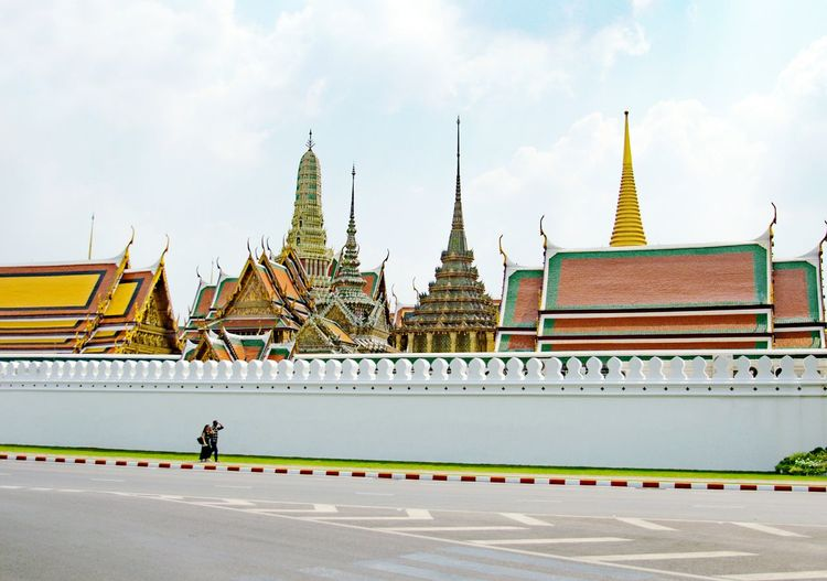 Bangkok. Thailand City Religion Sky Architecture Travel
