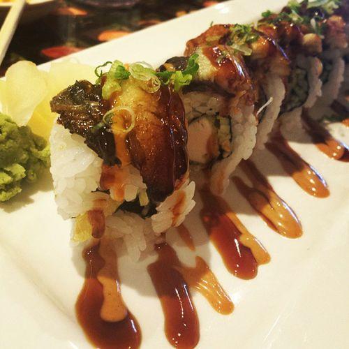 Ultimate Roll. Amazing. Japanesefood Sushi Sashimi  Food delicious