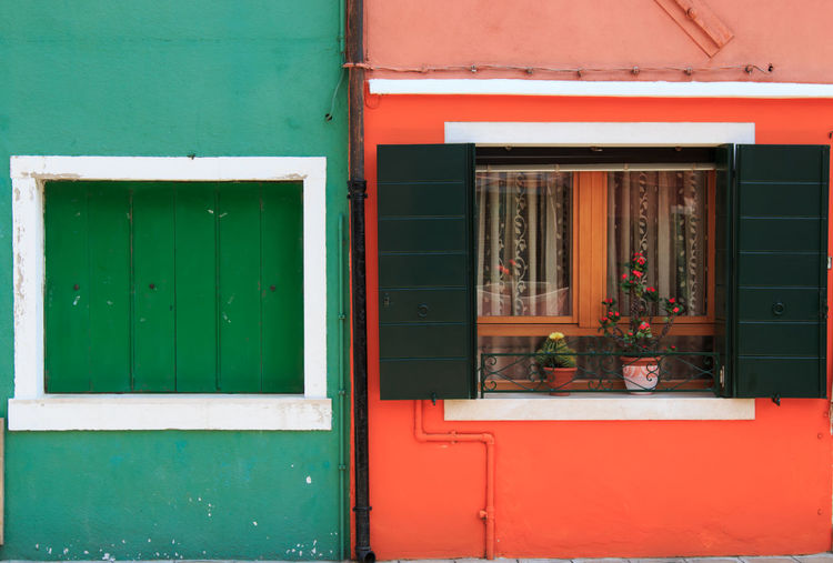 House and Home in Colour, Burano Architecture Blue Building Building Exterior Built Structure Burano, Italy Close-up Closed Colored Day Door Exterior Façade Green Color Houses Italy Multi Colored No People Outdoors Residential Building Residential Structure Safety Security Traditional Houses Venice, Italy