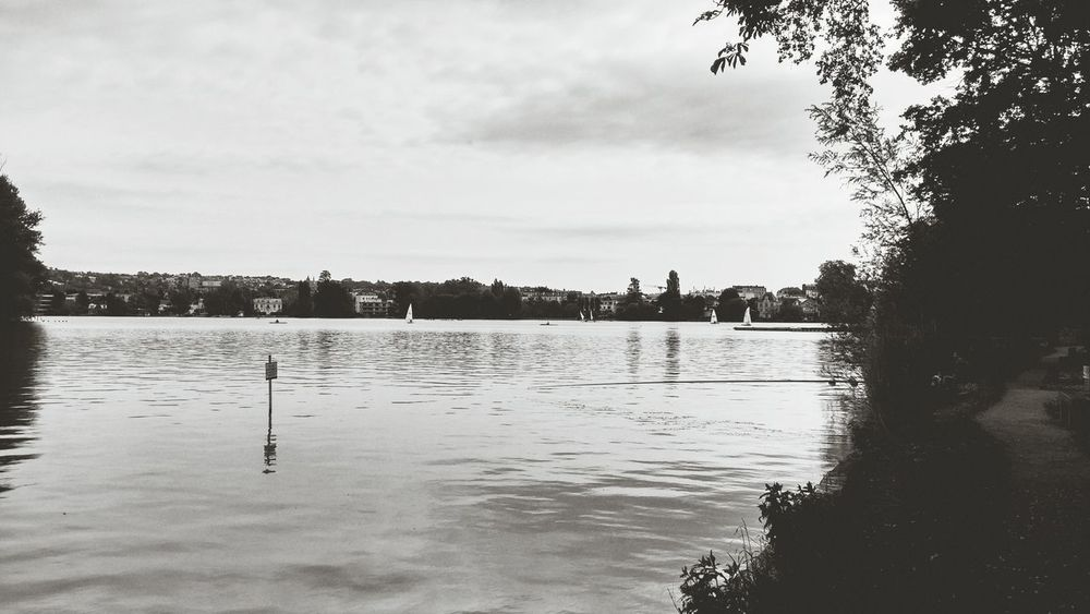 Le lac d'Enghien