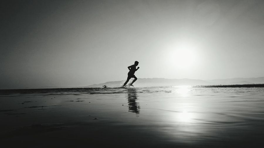 People Want To Be Loved On The Beach People Of EyeEm Excercising The Moment - 2015 EyeEm Awards Black & White Water Reflections Silhouette EyeEm Best Shots - Reflections People Watching