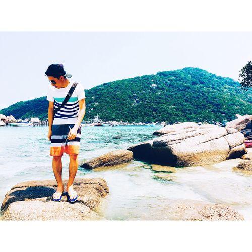 Sometimes . . . Love make me feel like a baby 😔 🌤 ⛱ 🛥 Relaxing Enjoying Life Nangyuan Island Thailand