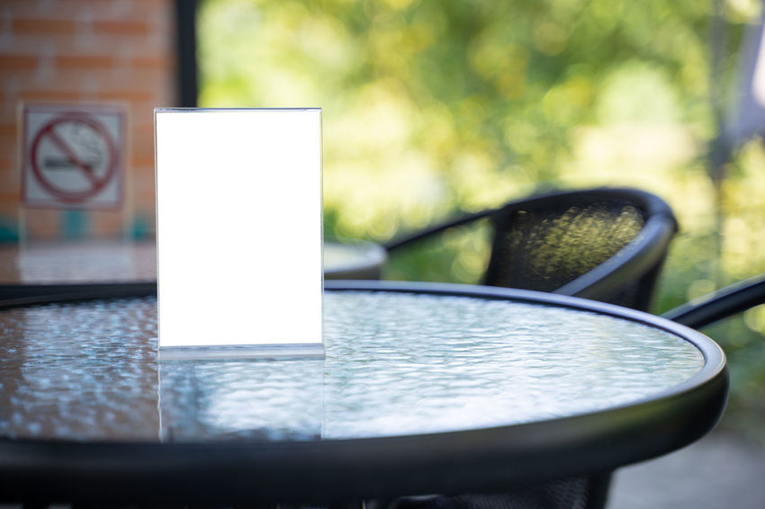 No People Table Focus On Foreground Close-up Day Outdoors Selective Focus Food And Drink Drink Nature Still Life Shape Lighting Equipment Paper Refreshment Design Water Kitchen Utensil Reflection Blank