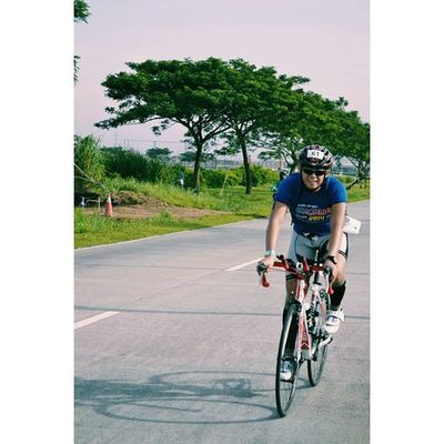 40 kilometers of pure pain. A very very hot and hilly ride. ?? Vscocam Multisport Duathlon Duamanx2duathlon SBRph pinoyfitness cycling cramps