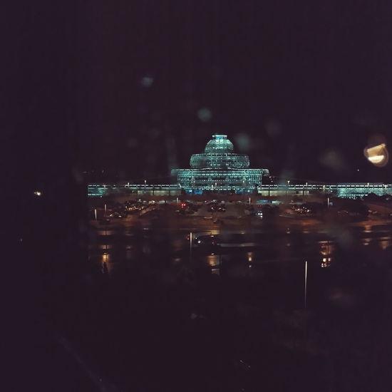 Airport Heydar Aliyev Lenovovibeshot Rain Nightshoot