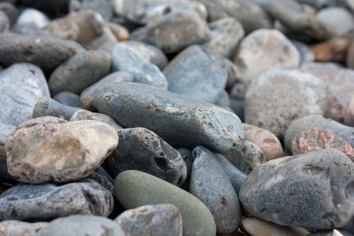 Pebblestones Denmark Closeup