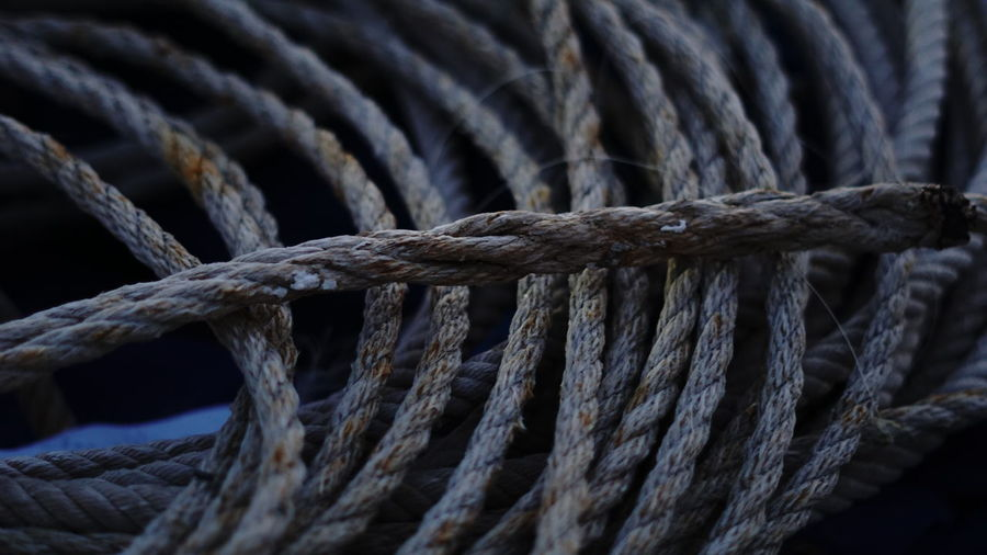 Detail shot of rope