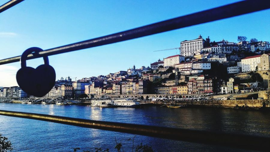 Oporto Water City Sky Architecture Close-up Built Structure Love Lock Hope Faith Padlock Bridge - Man Made Structure Suspension Bridge Railway Bridge Footbridge Latch Safe Attached Office Building Arch Bridge Lock Locked Cable-stayed Bridge Buoy Settlement River