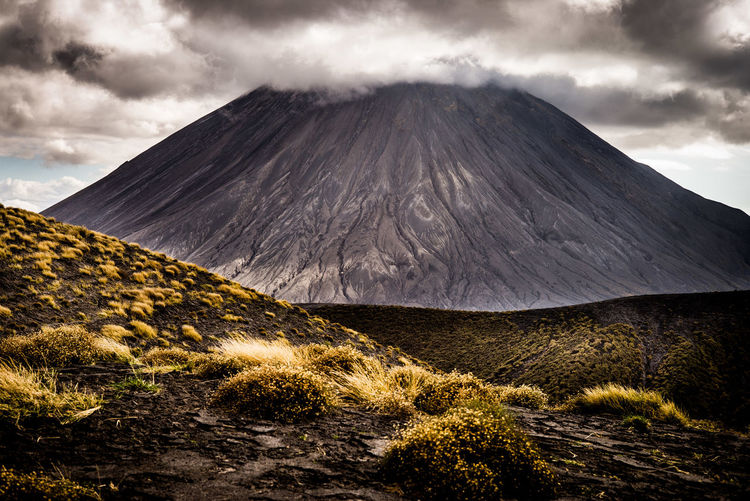 The Week on EyeEm Tanzania Active Volcano Africa Beauty In Nature Cloud - Sky Geology Landscape Mountain Nature No People Ol Doinyo Lengai Power In Nature Scenics Sky Tranquility Travel Destinations Volcanic Crater Volcanic Landscape Volcano