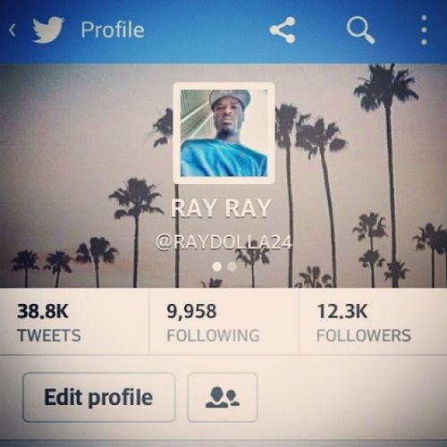 Follow me on Twitter @RAYDOLLA24