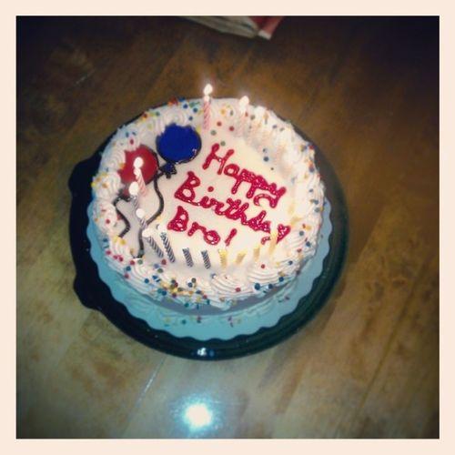 The birthday cake my sister got for me!! :) Big20 GettingOldLOL HappyBirthdayTooME ;)