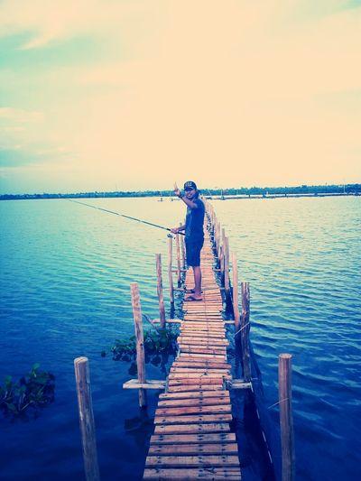 Fishing eyeem Borneo Southborneo Tungkaran