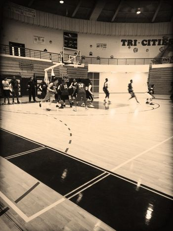 MORNING PRACTICE WITH THE GUYS !