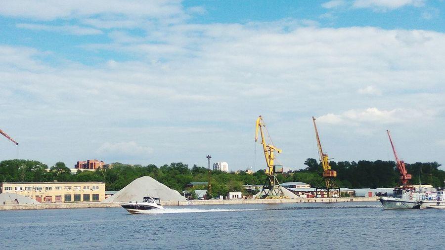 Sky No People Day Water Sand Beach sesh Ship Ships⚓️⛵️🚢 корабль Москварека