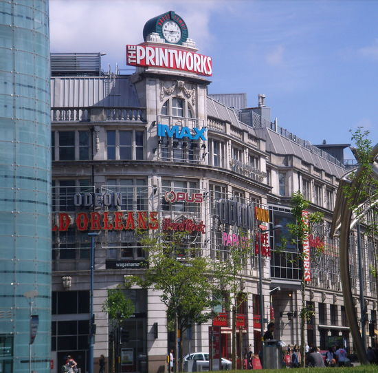 Manchester Printworks Manchester British Manchester Uk City