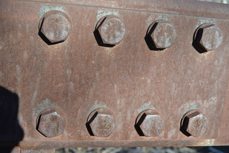 Architecture Background Texture Backgrounds Bolts Bolts On Bridge Bridge Bridge - Man Made Structure Close-up Rusty Rusty Metal