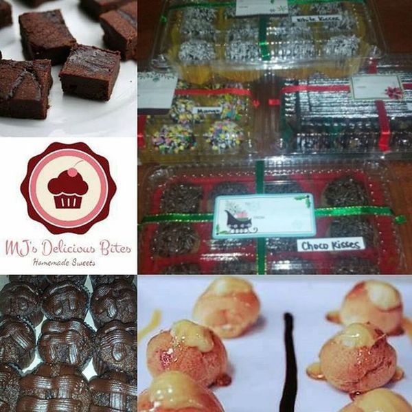Done with the orders Sa mga mahilig sa √ Chocolate Cupcake √ Chocolate Brownies √ Cream Puff √ Graham Balls with different fillings For Orders or Inquiries: just DM us @mjsdeliciousbites :) You can also text or call us at 09065331214 or PM us at our FB Page at MJ's Delicious Bites Guaranteed Home Made and Fresh Homemade Fresh Affordable Delicious Sweet Bitesize Chocolatecupcake Chocolatebrownies Creampuffs GrahamBalls