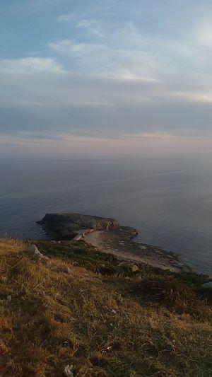 No Filter, No Edit, Just Photography Samsungphotography Sea Beach Sand Sky Landscape Grass Coast Rocky Coastline