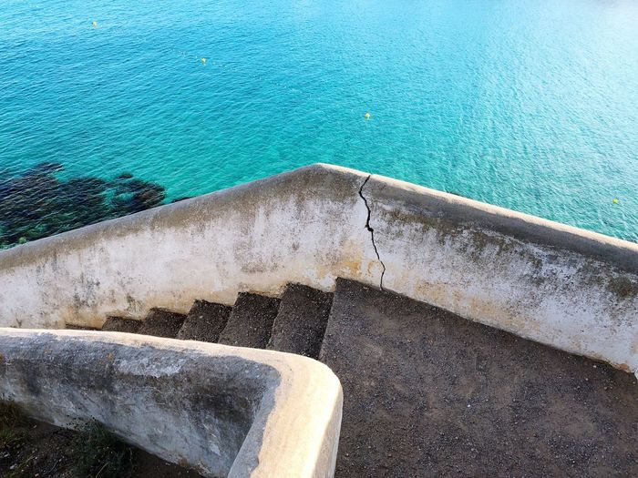 Stairs to sea