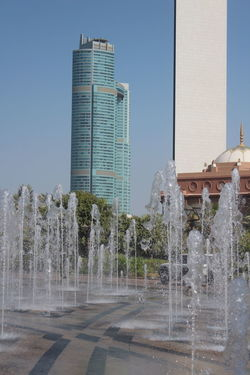 UAE, Abu Dhabi Skyscraper The Architect - 2017 EyeEm Awards Fountain No People