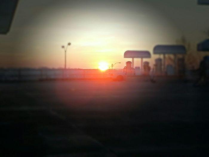 Sunrise February Morning Early