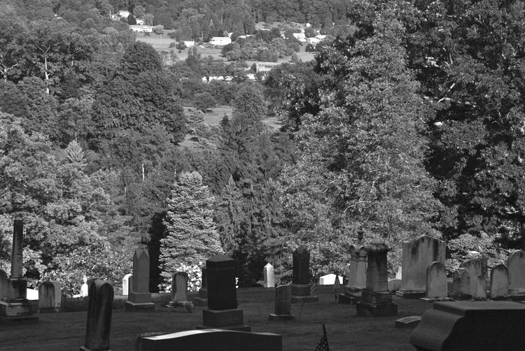 Cemetery Photography Tranquil Scene Death Valley Cemeteryscape Black & White