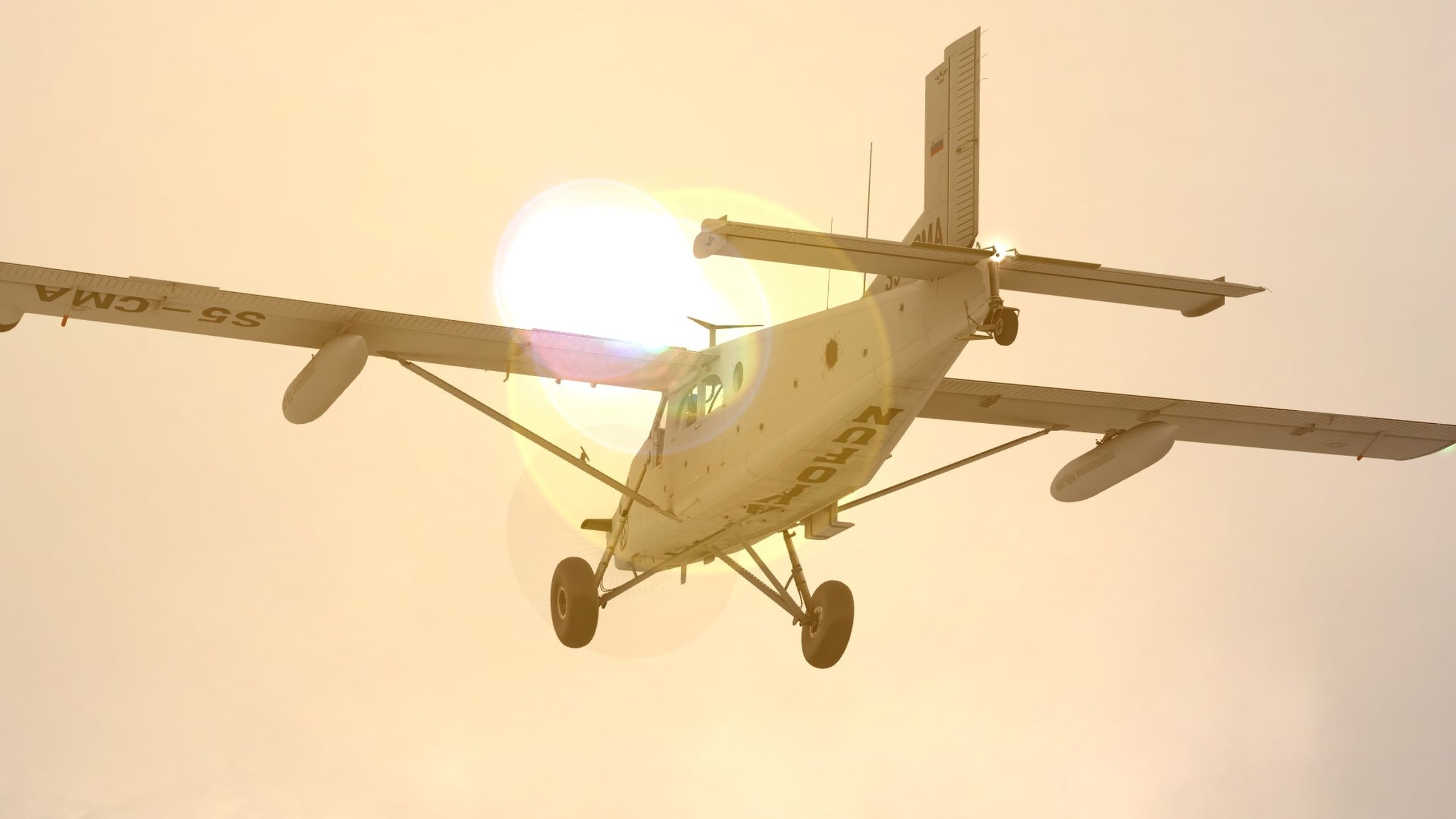 air vehicle, airplane, sky, mode of transportation, transportation, flying, nature, sunset, mid-air, low angle view, on the move, travel, no people, outdoors, motion, sunlight, aircraft wing, sun, journey, clear sky, aerospace industry