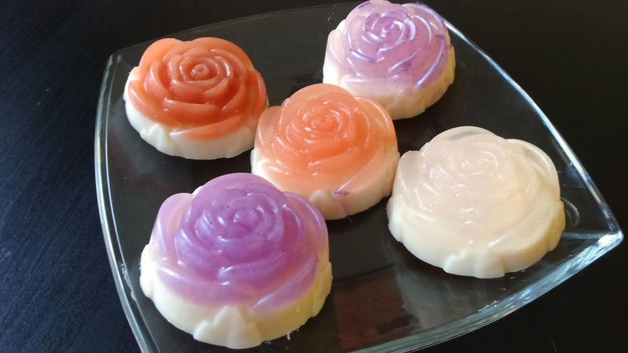 Glycerin Soap Handmade Present Purple Rose Soap Purple Roses Red And White Rose Soap Rose Soap Roses Soap Special Soap First Eyeem Photo