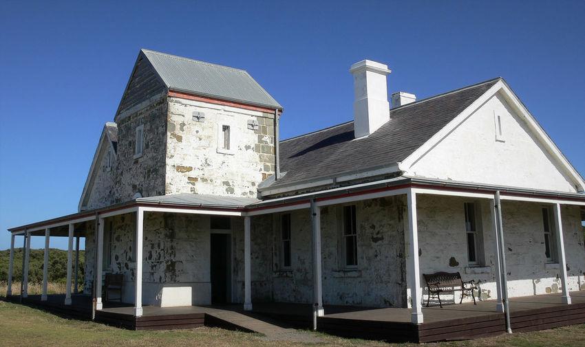 White Wash Architecture Building Cottage Cottage Life Regional Australia Sunlight The Past White Washed Building