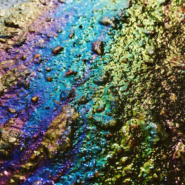Backgrounds Textured  Close-up No People Day Oil Spill Outdoors Colors Bauty Another Planet Colors The Week On EyeEm