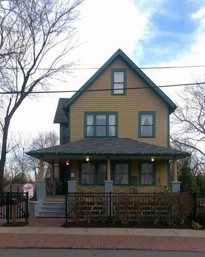 Architecture Building Exterior Built Structure Cleveland Cleveland Ohio A Christmas Story A Christmas Story House
