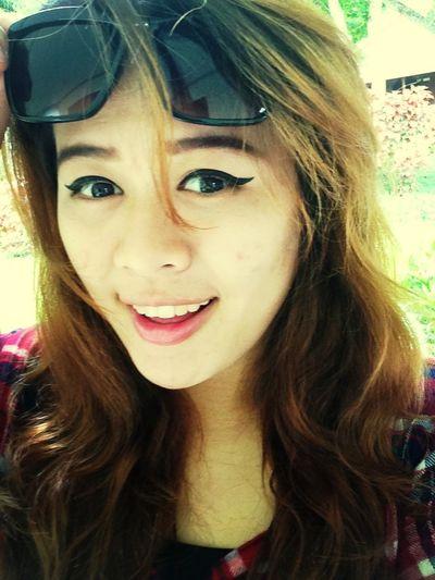 Happy Times Enjoying Life Smile Prang3yod