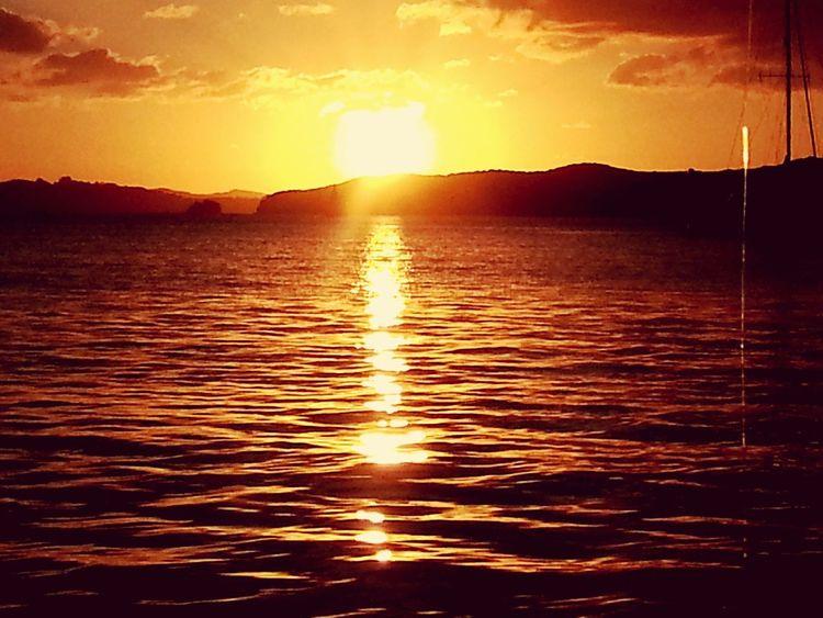 Sunset Bay of Islands New Zealand..Paradise Bay First Eyeem Photo