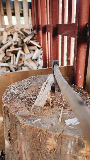 Wood - Material Lumber Industry Timber Deforestation Stack No People Day Indoors  Axe Close-up Piled Up Pile Of Wood Wooden House Store Preparation  Wooden Pile Woodpile Wooden Texture Wood Tree Cutting Cut Stack Wooden Structure