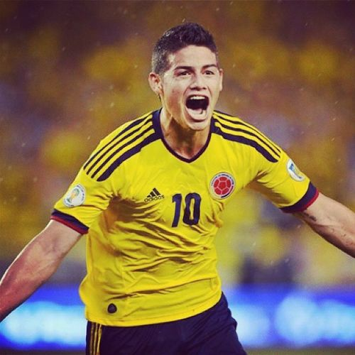 Although Columbia lost, I have nothing but respect for this man. Respect Jamesrodriguez