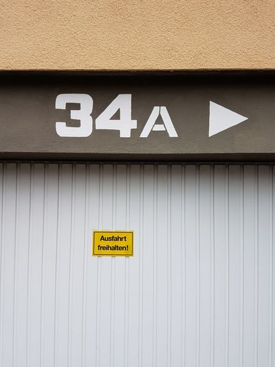 Communication Text No People OutdoorsRestroom Sign Exit Sign Close-up Day GERMANY🇩🇪DEUTSCHERLAND@ Housenumber Entrance Gate Text Architecture