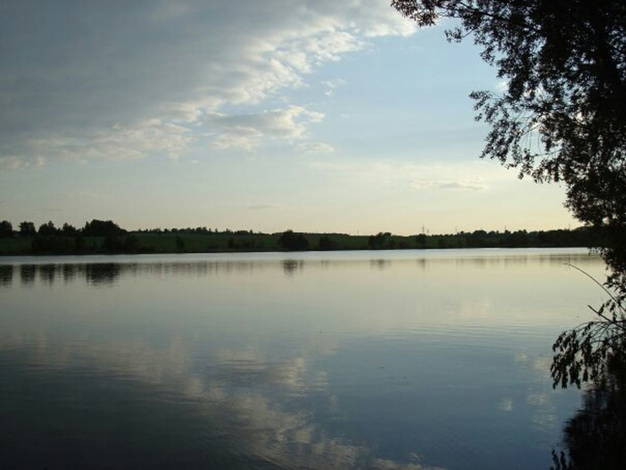 reflection, tree, water, lake, tranquil scene, sky, tranquility, nature, scenics, outdoors, cloud - sky, beauty in nature, no people, day