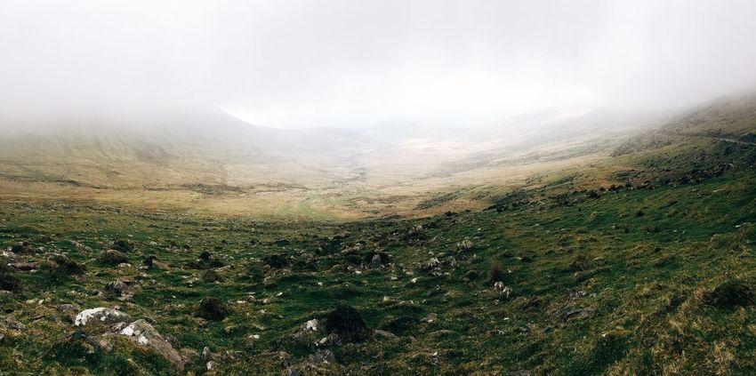 Low Clouds Ireland Highlands Landscape Fog Mist Mobilephotography IPhoneography VSCO Vscocam