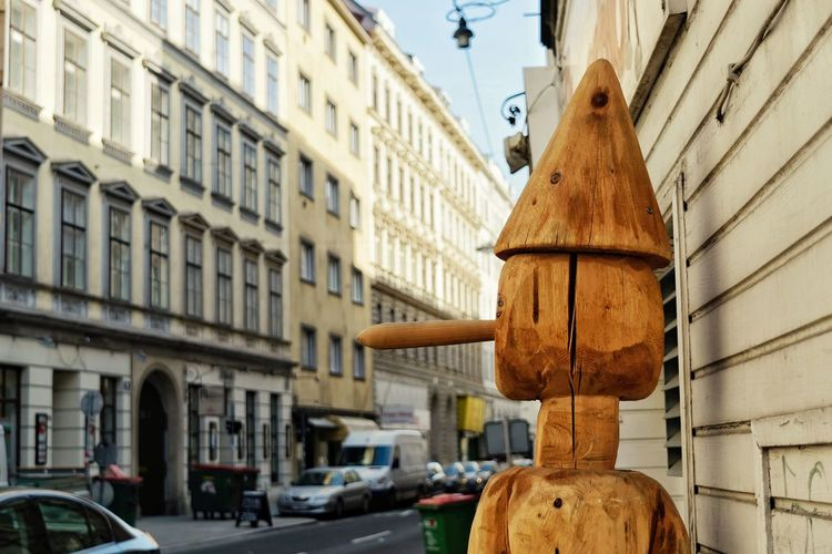 Building Exterior Architecture Built Structure Day Outdoors No People City Close-up Pinóquio Wood Wooden Structure Street