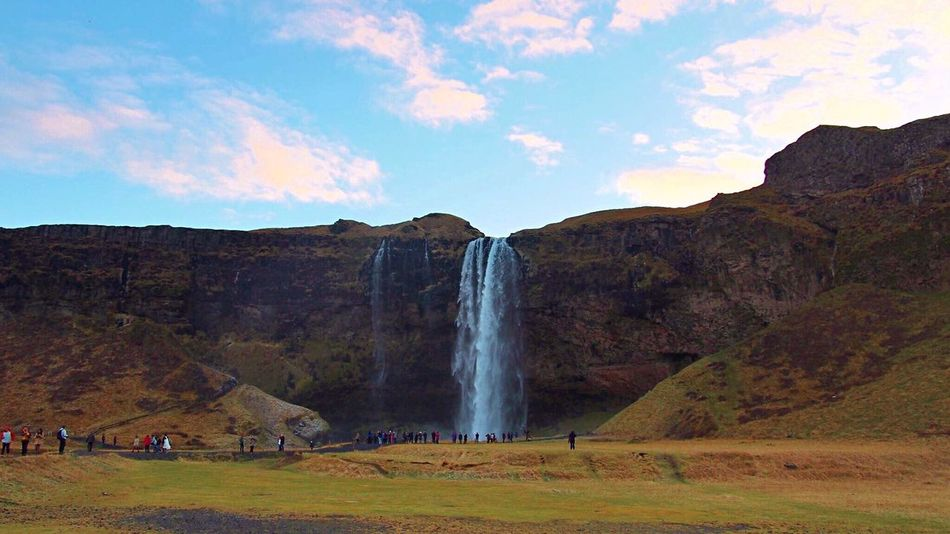 Seljalandsfoss Iceland Waterfall Waterfall_collection Iceland_collection Iceland Trip Iceland Memories EyeEm Nature Lover Trip Landscape Landscape_Collection Island North Europe Showcase: November Great Outdoors アイスランド 滝 Want To Go Back Icelandic_explorer Cliff Face Cliffside Riverside Sightseeing Spot Landscape_captures Nature Makes Me Smile