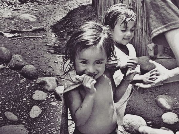 Bnwphotography Children's Portraits Portrait Blackandwhite Looking At Camera Smile Travel Destinations Friendsoftheworld Casualstyle Enjoying Life Hello World Travel Photography Amazonia Area Eyeem People EyeEm Exploring Lifestyles People Portrait Black & White Ligth And Shadows Lovelife