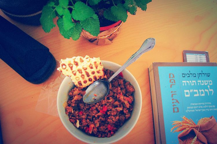 Yummy!My Favorite Breakfast Moment Eat Eat And Eat Breakfast ♥ Meat Love Enjoying Life Up Shot Food Ready-to-eat Read A Book