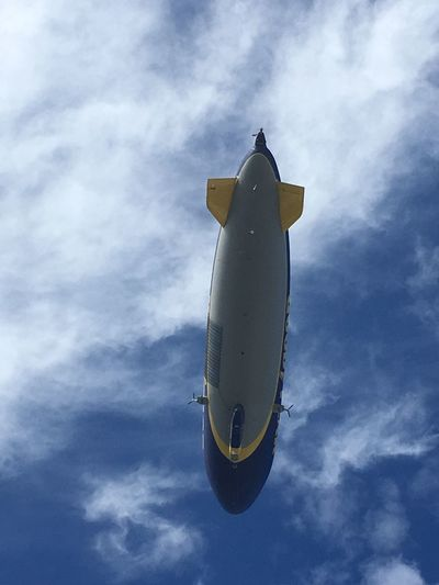 Be. Ready. Blimp Blimp In The Sky Goodyear Blimp Aircraft Aircraft In The Sky Dirigeable I like anything that's long and hard.