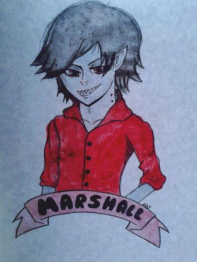Crooked eyes ugh Marshall Lee Drawing