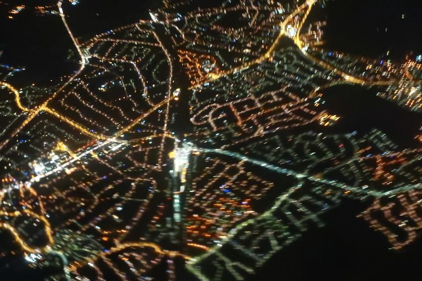 Pattern Full Frame Illuminated Night Mobility In Mega Cities Nature Backgrounds Fragility Beauty In Nature Outdoors