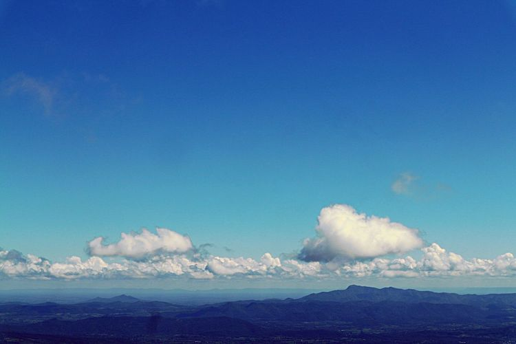 Blue Mountain Nature Sky Tranquility Scenics Beauty In Nature Outdoors No People Tranquil Scene Day Cloud - Sky Landscape Mountain Range
